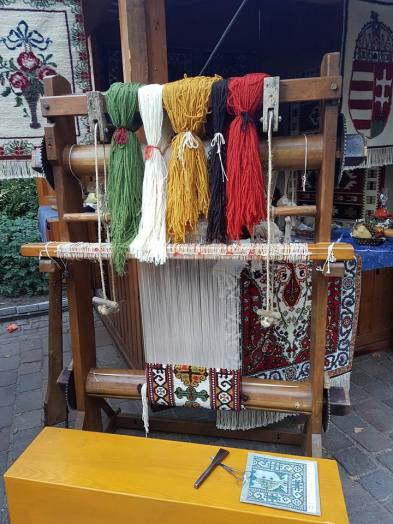 Local stalls at the fair